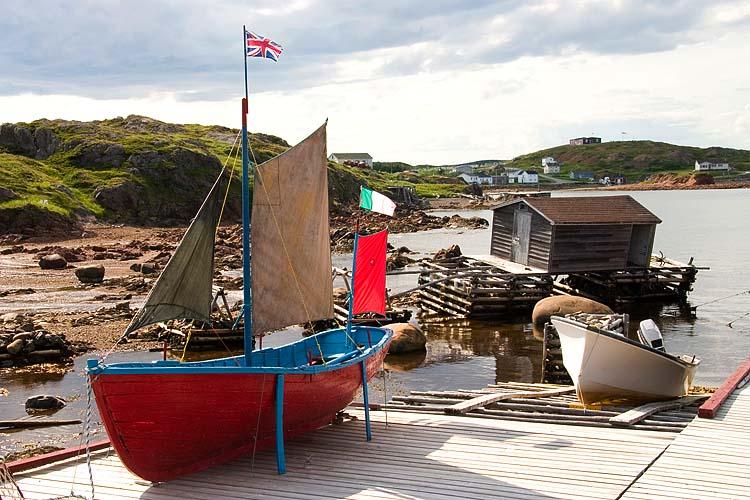 Melvin's Dock, Newfoundland 2008
