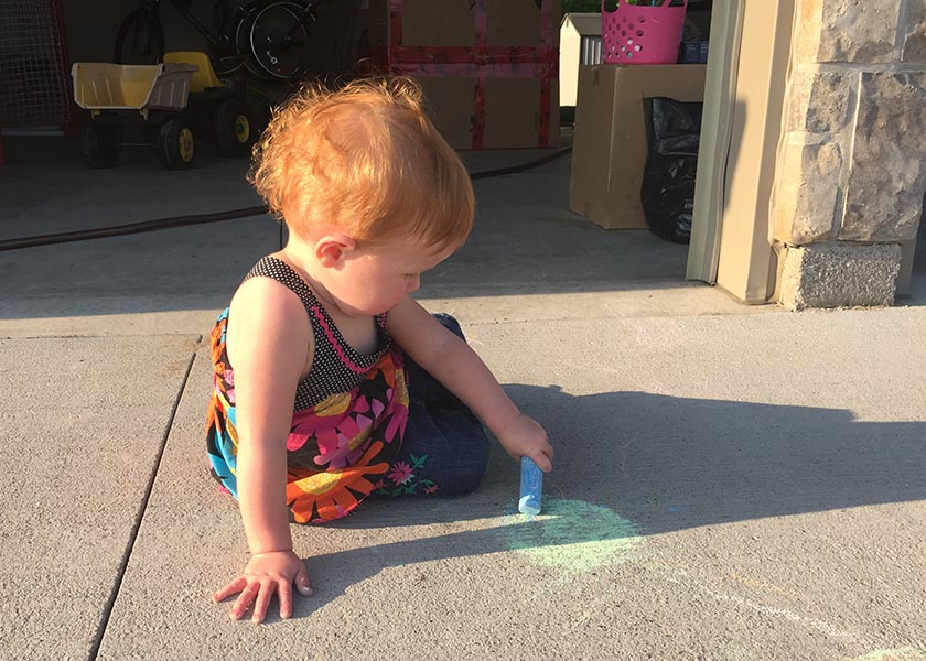 Drawing on the Driveway
